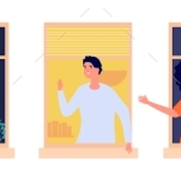 People in Windows