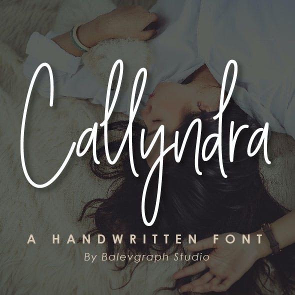 Callyndra Handwritten