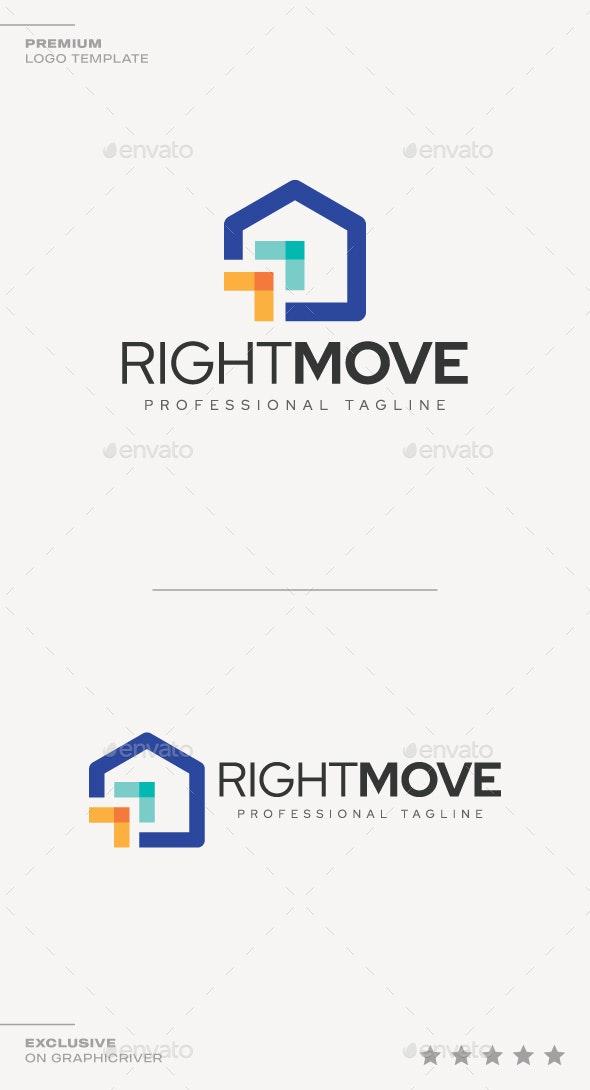 Right Move Logo - Symbols Logo Templates