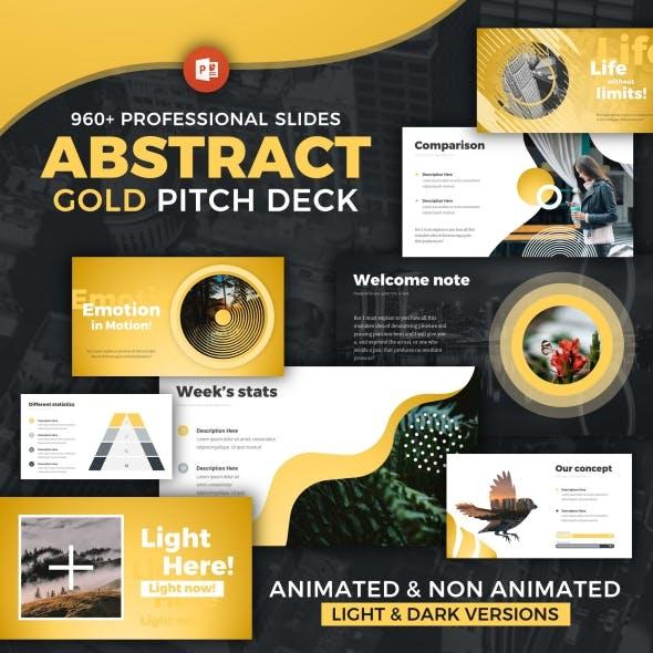 Pitch Deck Modern Powerpoint