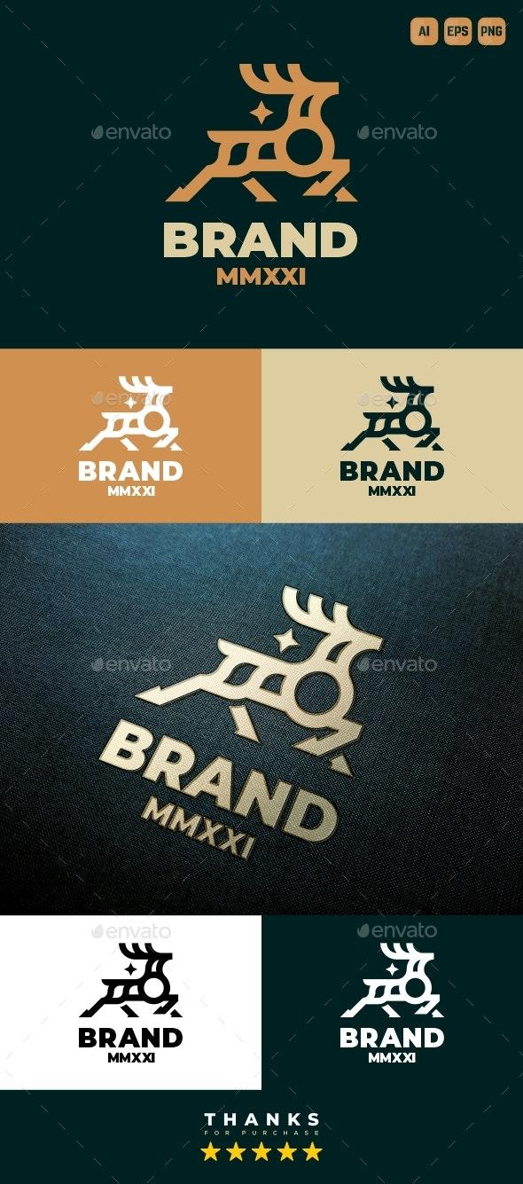 Deer Logo - Animals Logo Templates