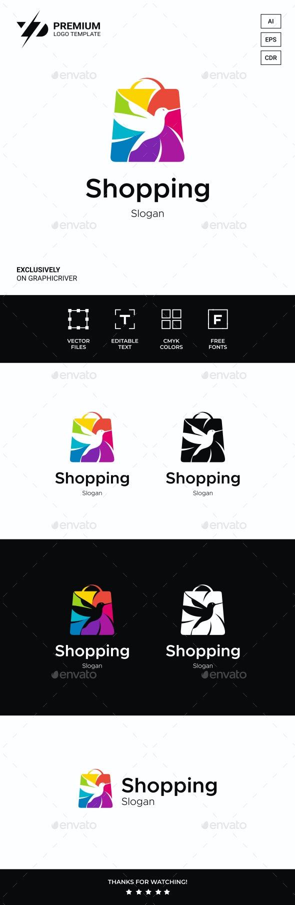 Shopping Logo - Animals Logo Templates