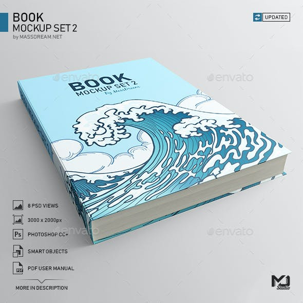 Book Mockup Set 2