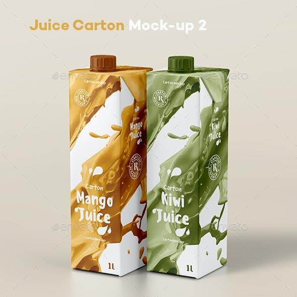 Juice Carton Mock-up 2