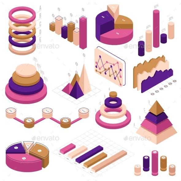 Infographic Isometric Elements
