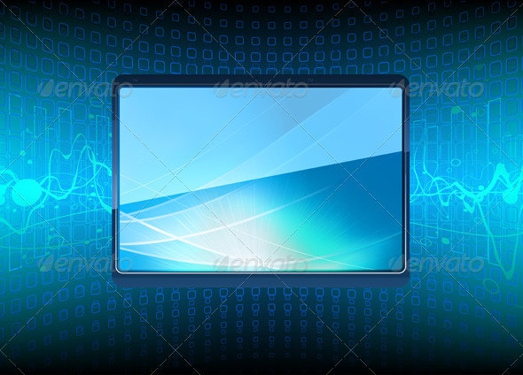 Plasma TV - Objects Vectors
