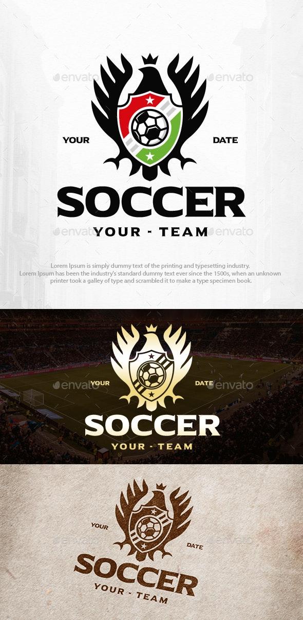 Soccer Logo Template - Football Sports