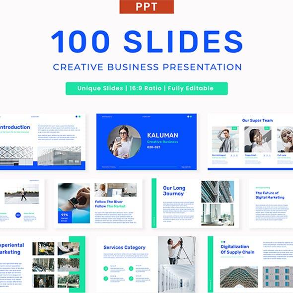 Kaluman - Creative Business Presentation PPT Template