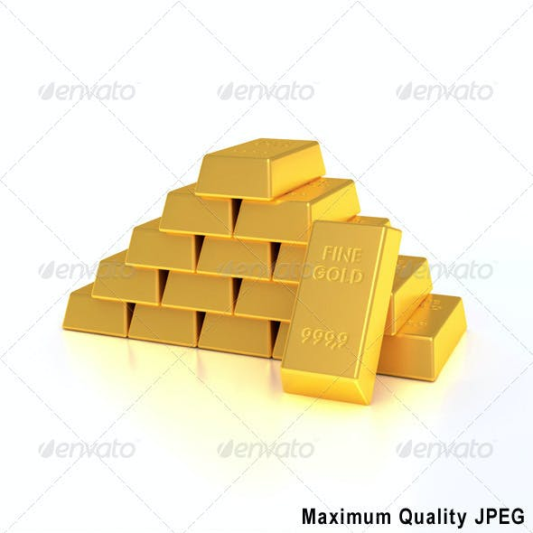 Golden bullions