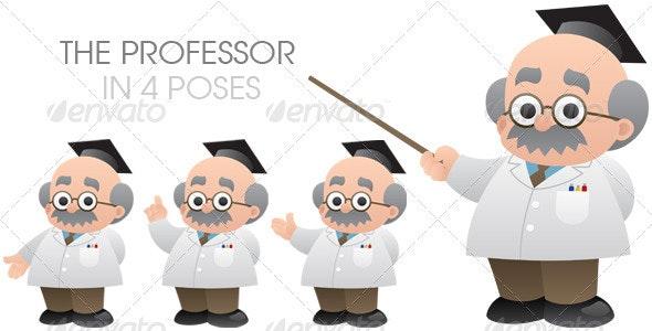 Professor - Web Elements