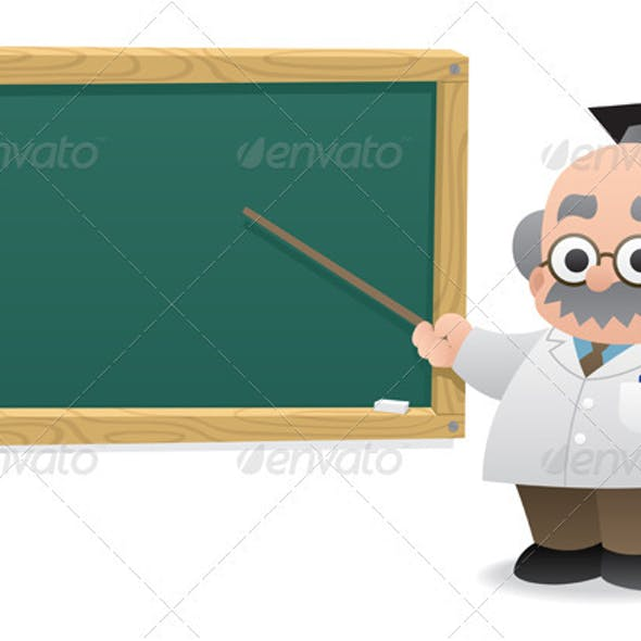 Professor & Blackboard
