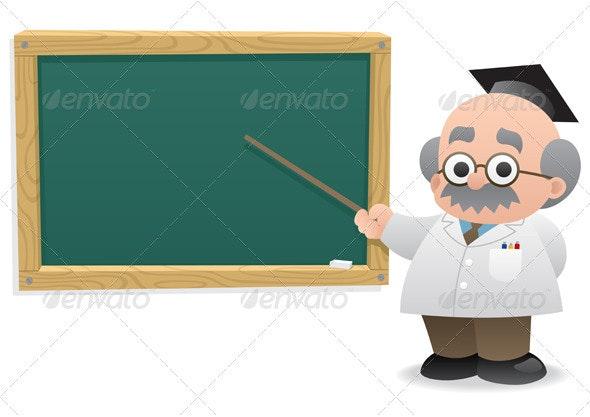 Professor & Blackboard - Web Elements
