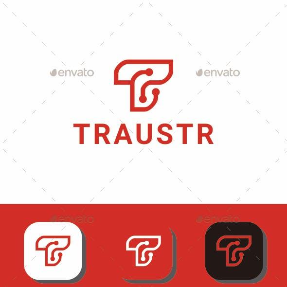 Traustr T Letter