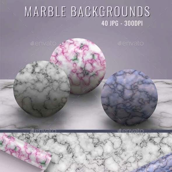 40 Realistic Marble Textures - JPG