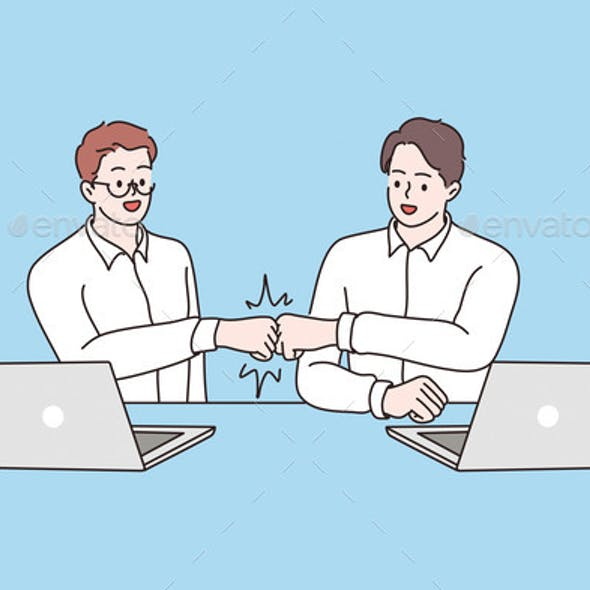Success Cooperation Agreement Concept