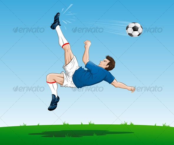 Kick - Sports/Activity Conceptual