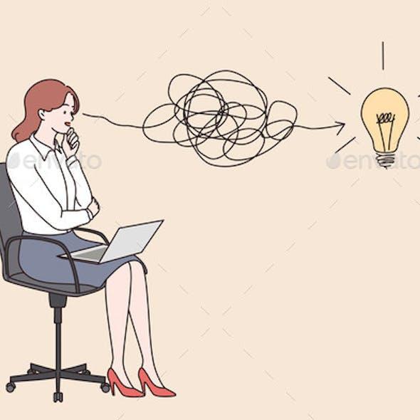 Innovative Thinking New Idea Money Earning
