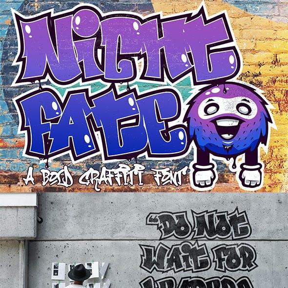 Nightfate Graffiti