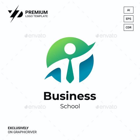 Business Human Logo