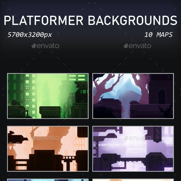 Platformer Backgrounds