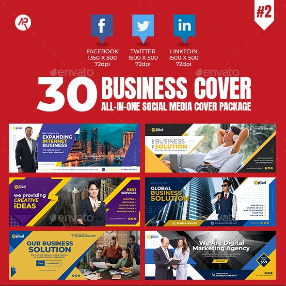 30 Business Cover Banners