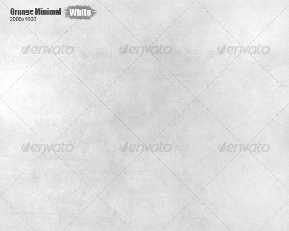 Grunge Minimal Texture (White) - Concrete Textures