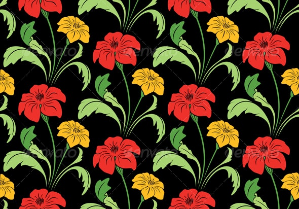 Seamless Classic Wallpaper - Backgrounds Decorative