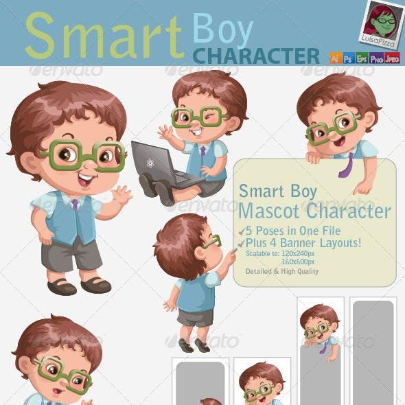 Smart Boy Character