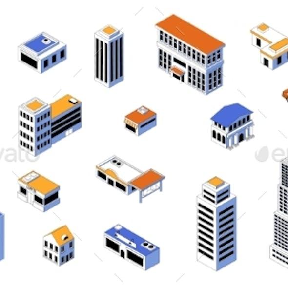 Isometric City Kit