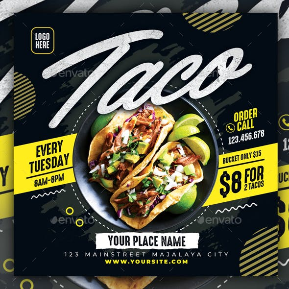 Taco Flyer