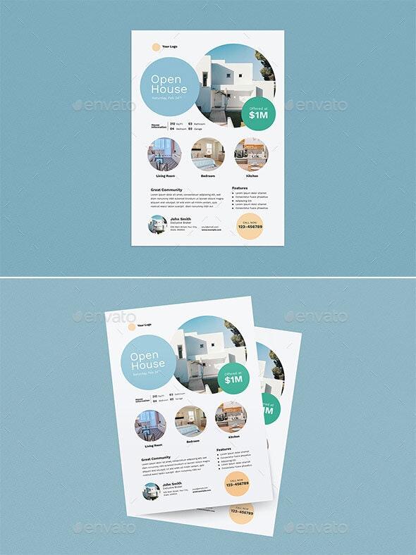 Real Estate Flyer - Flyers Print Templates