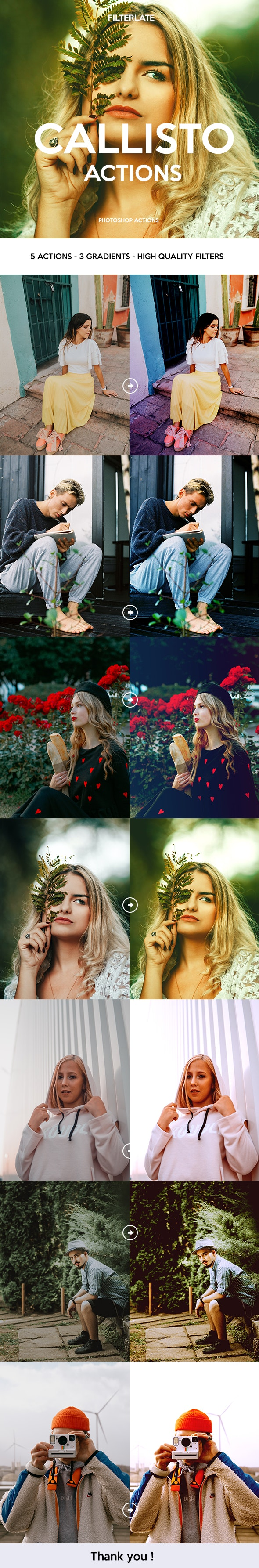 Callisto Actions - Photo Effects Actions