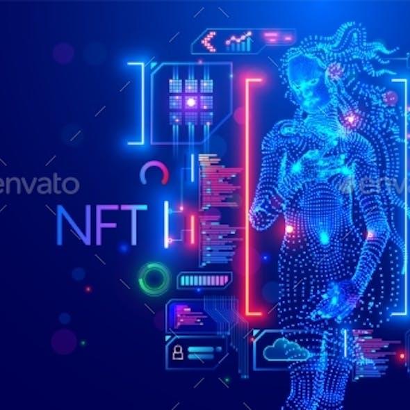 NFT Token in Artwork