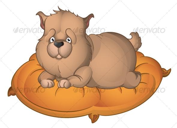 Fat Puppy - Characters Vectors