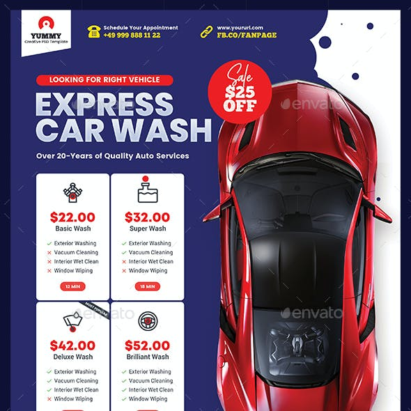 Car Repair Services Flyer