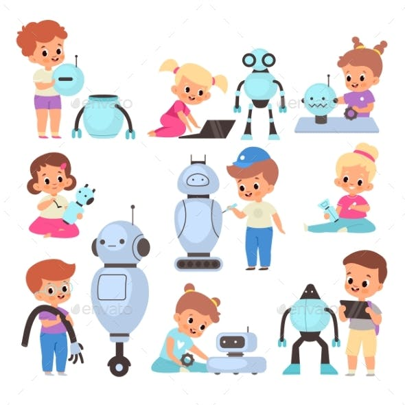 Kids with Robots