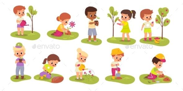 Kid Gardener - People Characters