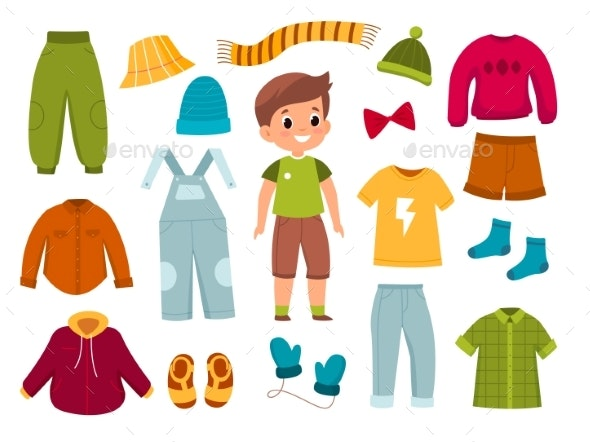 Boy Clothes - Man-made Objects Objects