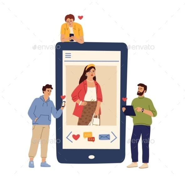 Social Media Relationship - Miscellaneous Vectors
