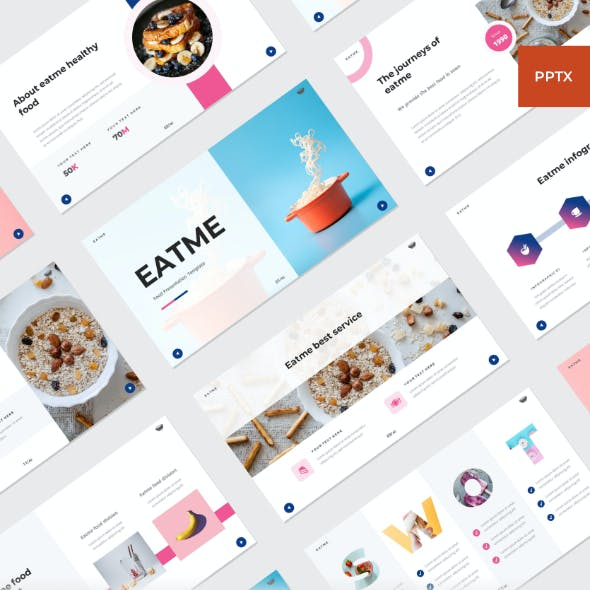 EATME - Food PowerPoint Template