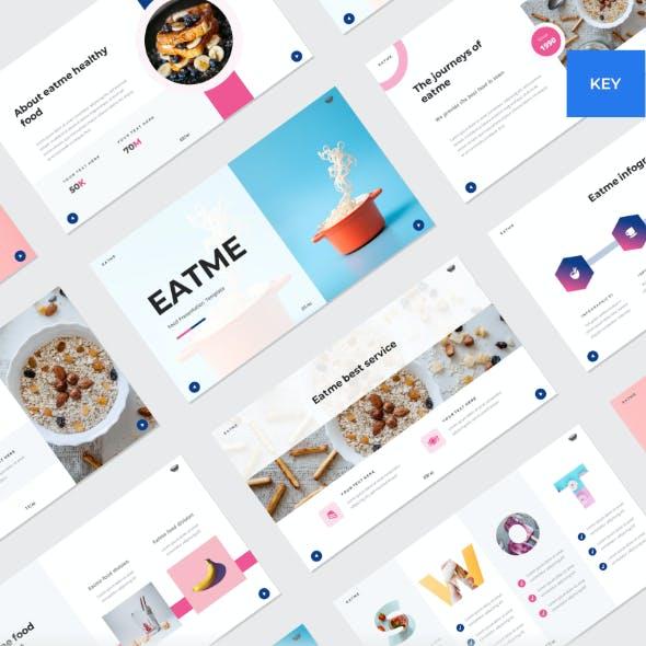 EATME - Food Keynote Template