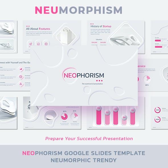 Neumorphism Multipurpose Google Slides Template