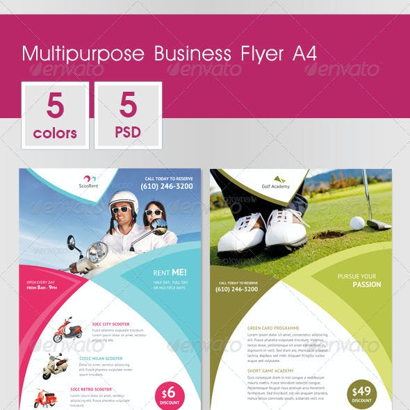 Multipurpose Business Flyer A4 v.2