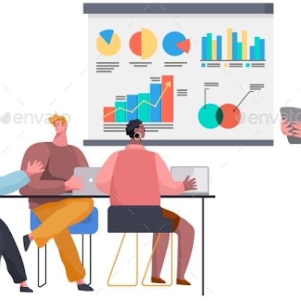 Successful Business Project Presentation Company