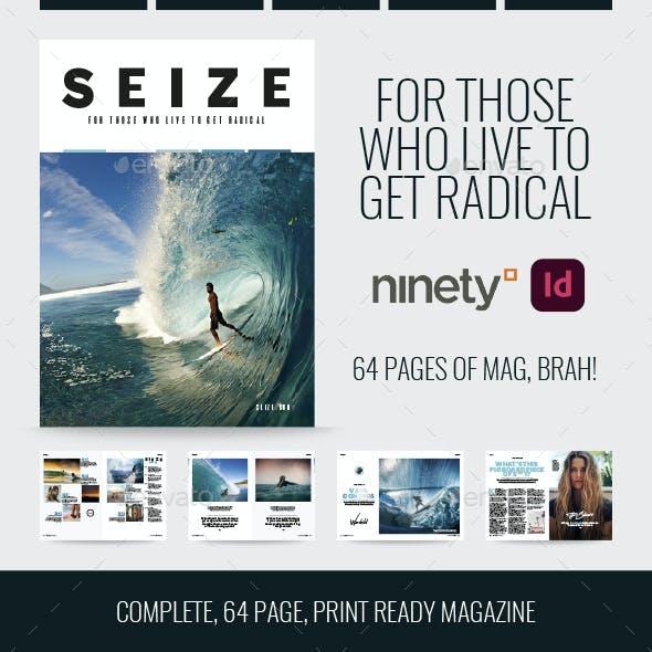 64 Page InDesign Magazine