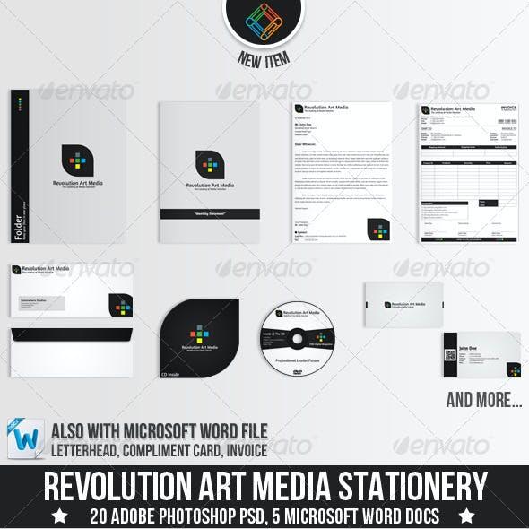 Revolution Art Media Stationery