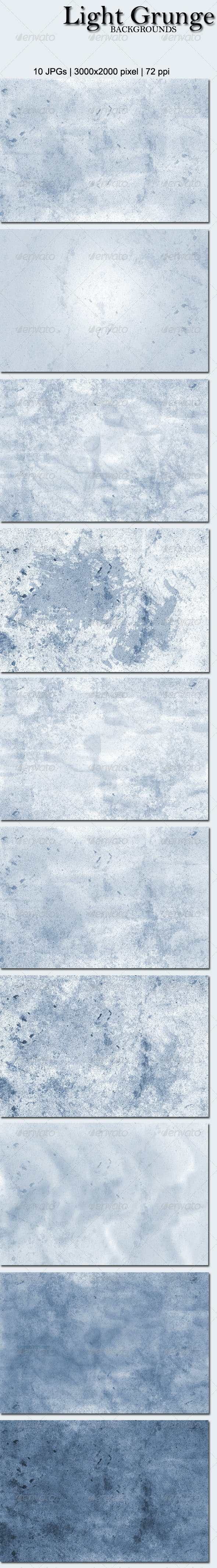 10 Light Grunge Backgrounds - Miscellaneous Backgrounds