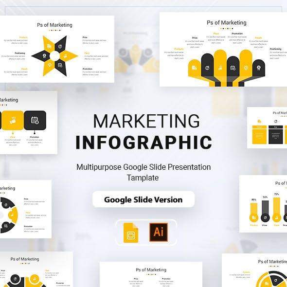 Marketing Infographic Google Slide Presentation