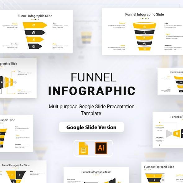 Funnel Infographic Google Slide Presentation