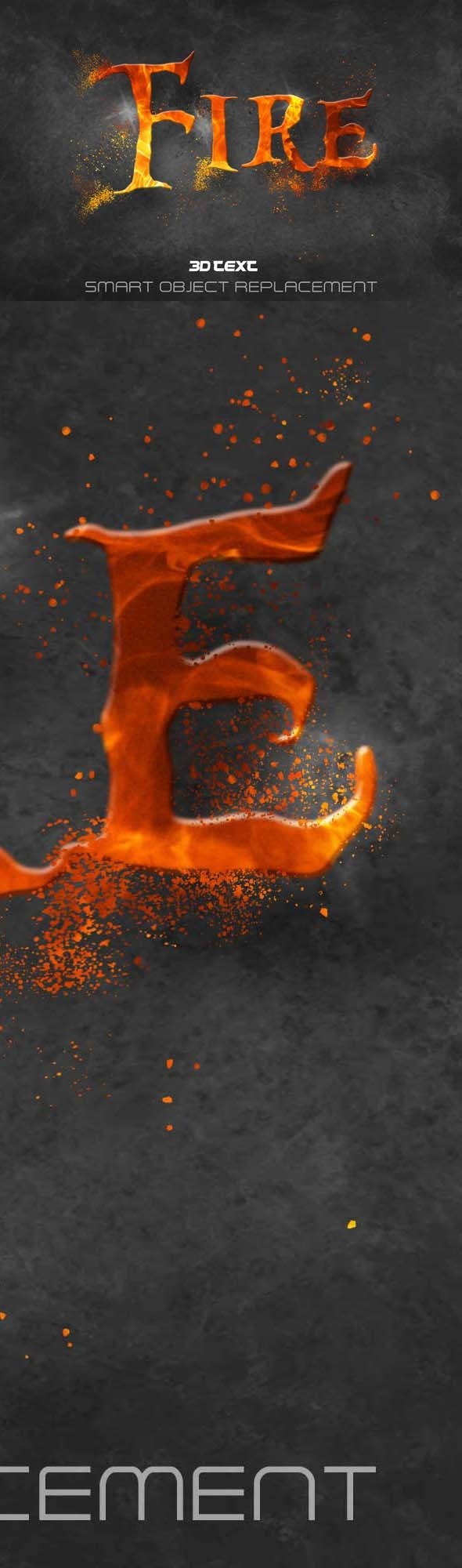 Fire Text Effect Styles - Text Effects Styles